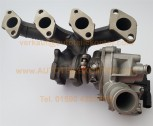 Generalüberholter Turbolader 728680-5015S f. Ford Mondeo 2.0TDCi